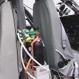 EC-135内部の酸素供給装置